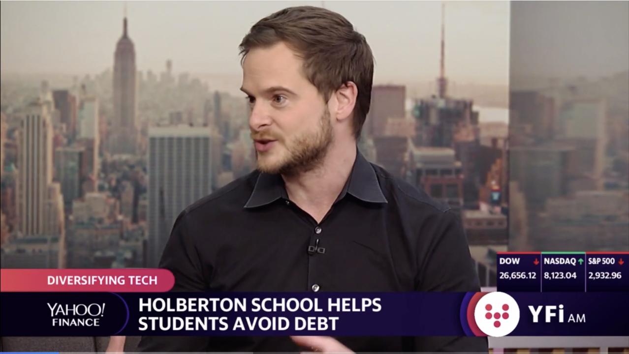 Coding School Holberton breaks down financial barriers
